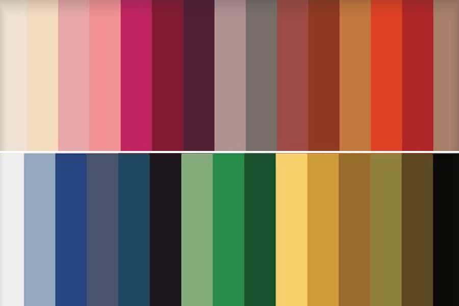 avance moda oto o invierno 2017 2018 el titular On colores de invierno 2017 2018