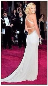 Vestidos de los Oscar - Charlize Theron