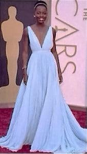Vestidos de los Oscar - Lupita Nyong'o