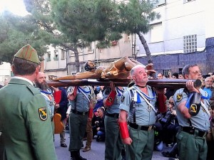 La Legión desfila en L'Hospitalet