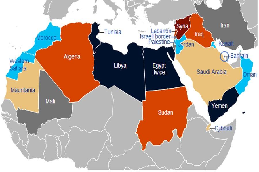 490e942510 Las consecuencias de la primavera árabe - El Titular