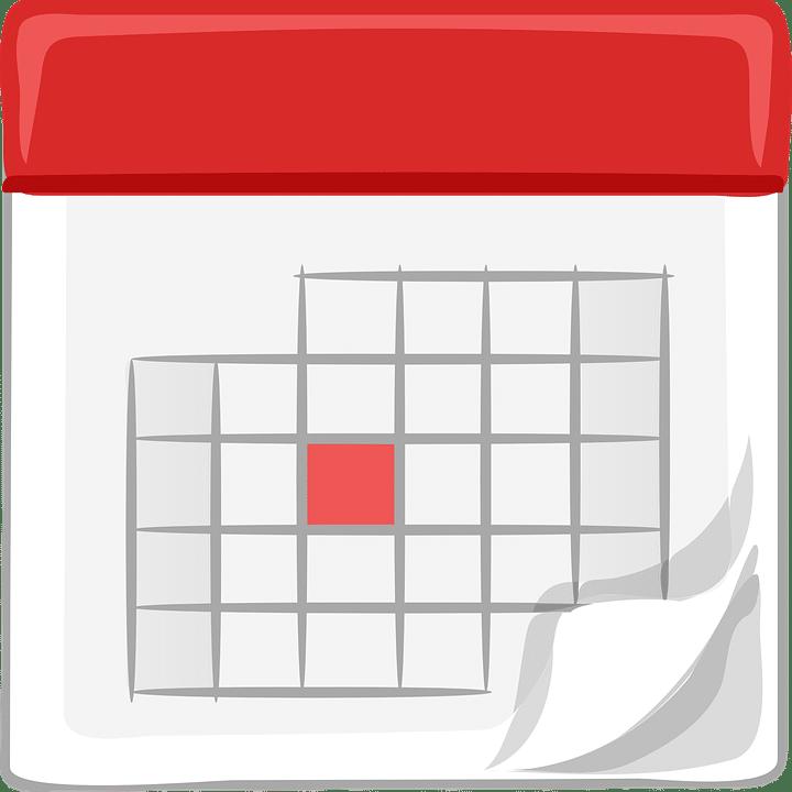 calendario de aniversarios, efemérides y santoral