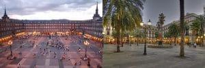 Plaza - Madrid Vs Barcelona