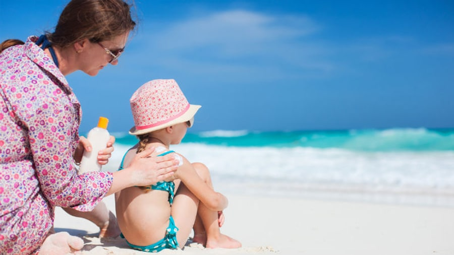 proteger la piel de los más pequeños