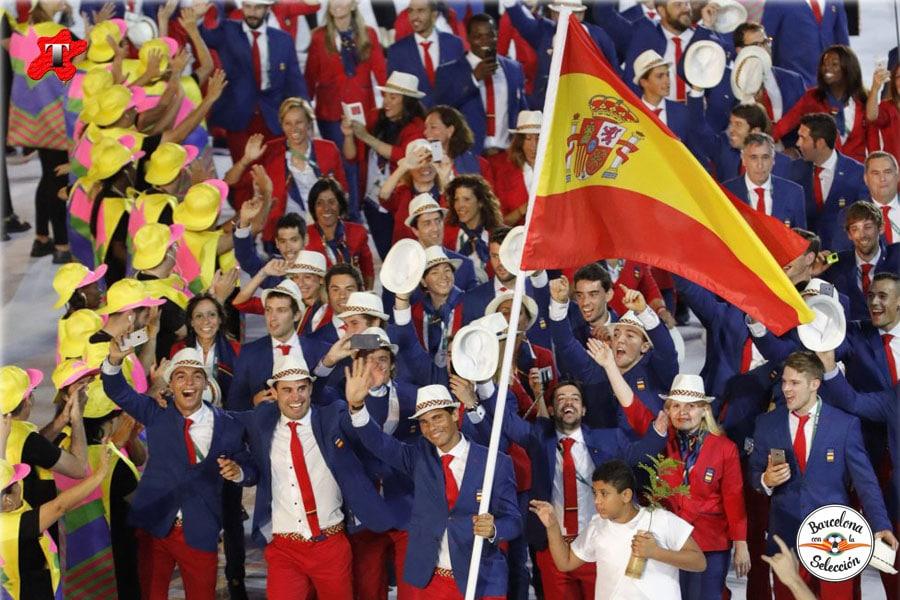 Barcelona con la Selección