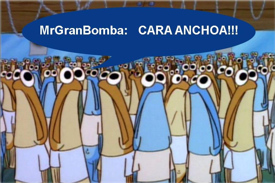vídeo Cara Anchoa MrGranBomba
