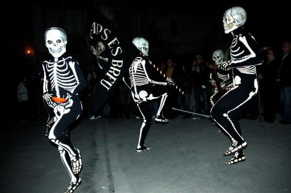 Danza de la muerte en Verges