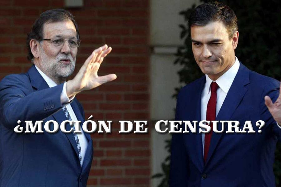 Pedro Sánchez moción de censura