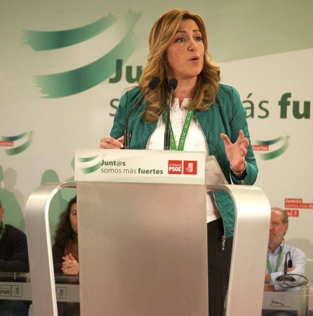 susana diaz herencias PSOE