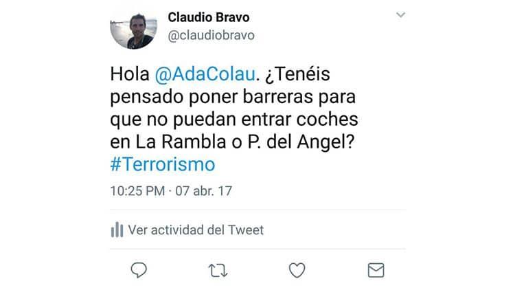 El tweet que predijo los atentados de las Ramblas de Barcelona