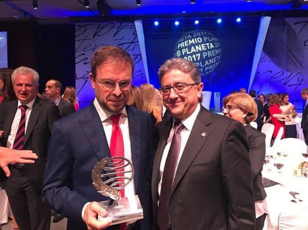 Enric Millo y Javier Sierra Premio Planeta 2017