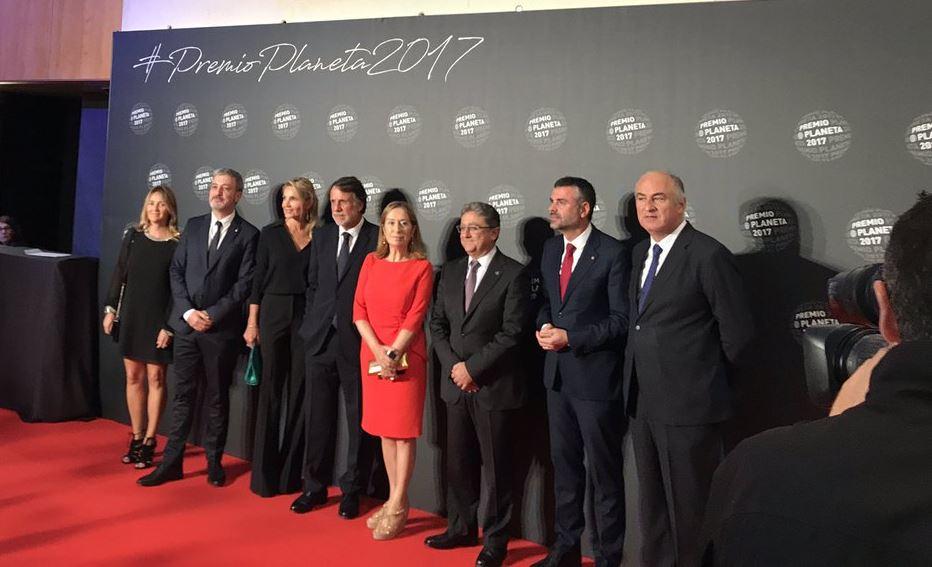 Personalidades en el Premio Planeta 2017