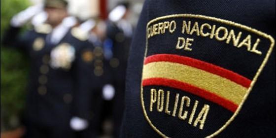 policía nacional. violencia en Cataluña el 1-0