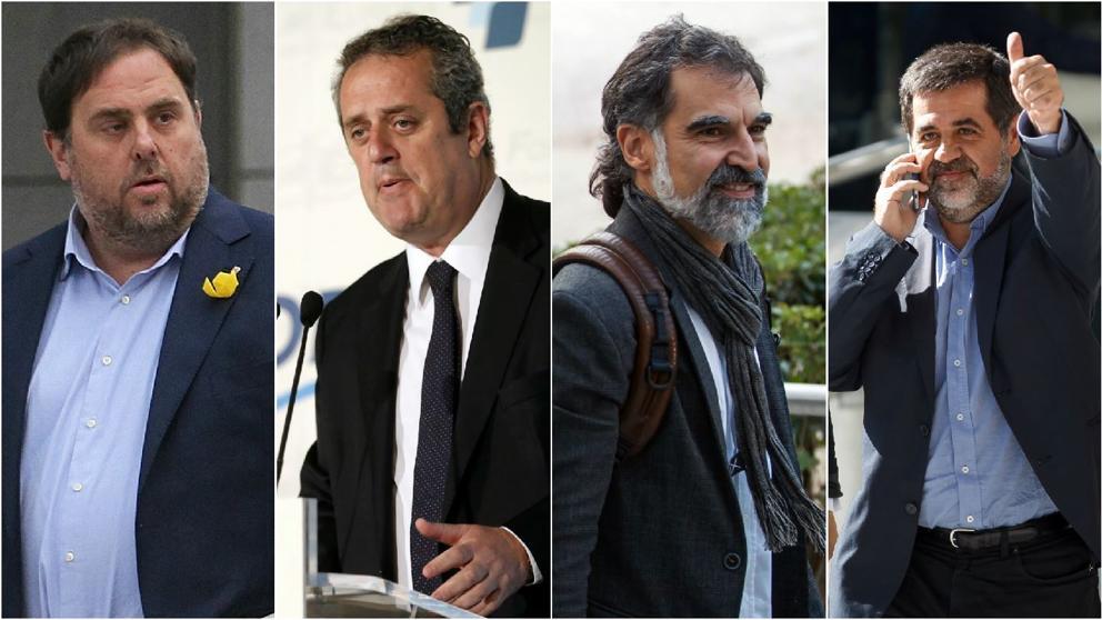 Junqueras, Forn y los Jordis se quedan en la cárcel