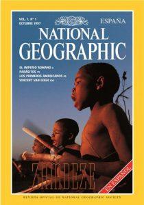 National Geographic. Primer número en España