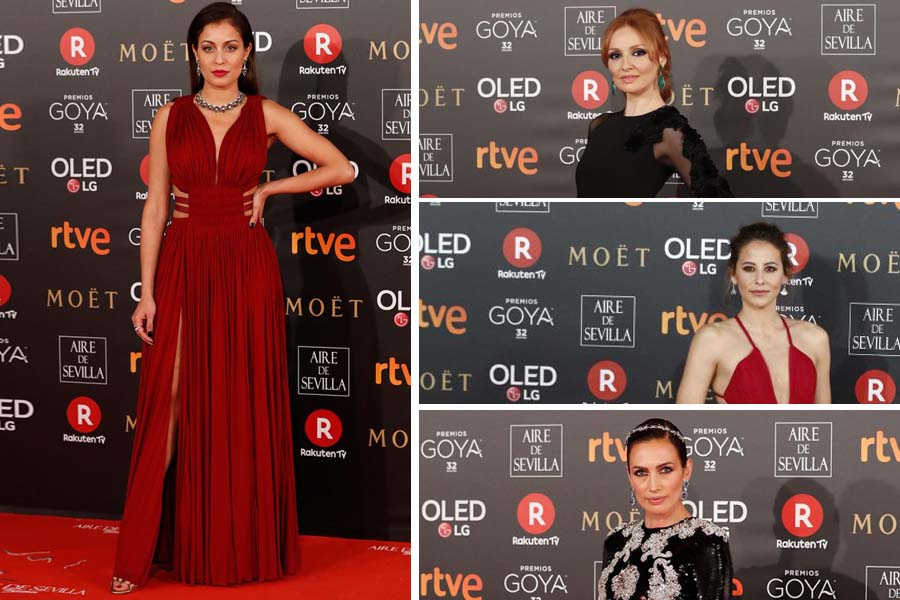 Los Premios Goya 2018: las mejores y peores vestidas.