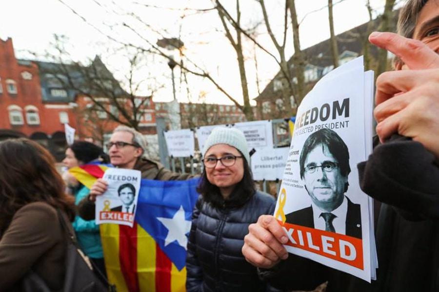 ¿Estás de acuerdo con la decisión de la justicia alemana sobre el caso Puigdemont?