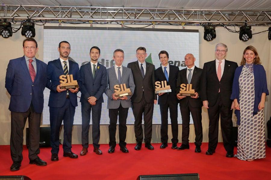"""ZARA, MEDIA MARKT Y FORD España reciben el premio SIL en """"la noche de la logística"""""""