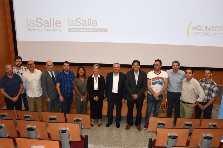 La Salle-URLy El Consorcio de la Zona Franca inicianun programa de aceleración de startups del mercado logístico
