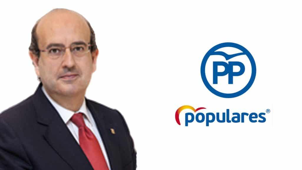 Javier Mulleras, Concejal del PP de Barcelona
