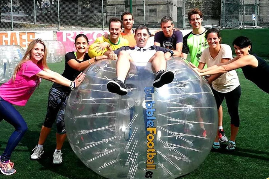 Actividades de team building deportivo en Barcelona