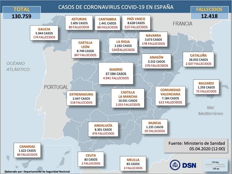 La inoperancia del Gobierno español frente a la crisis del coronavirus