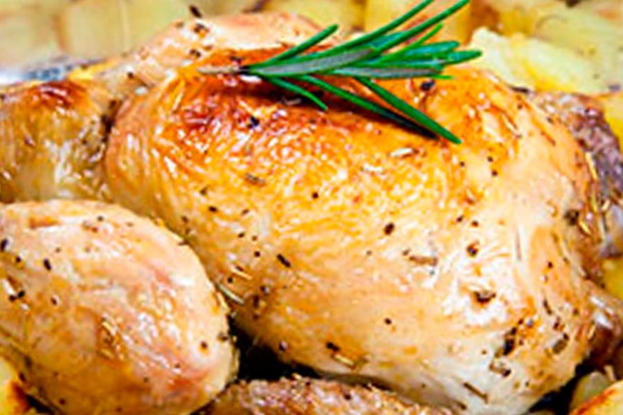 Pollo al limón, receta muy fácil y sana
