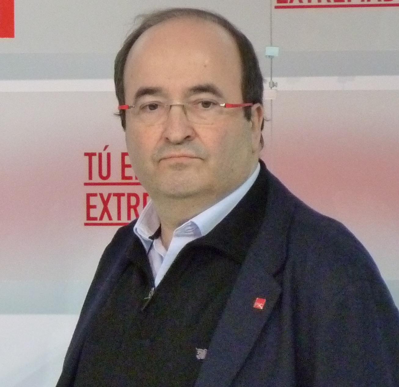 Miquel Iceta. Ministro de España
