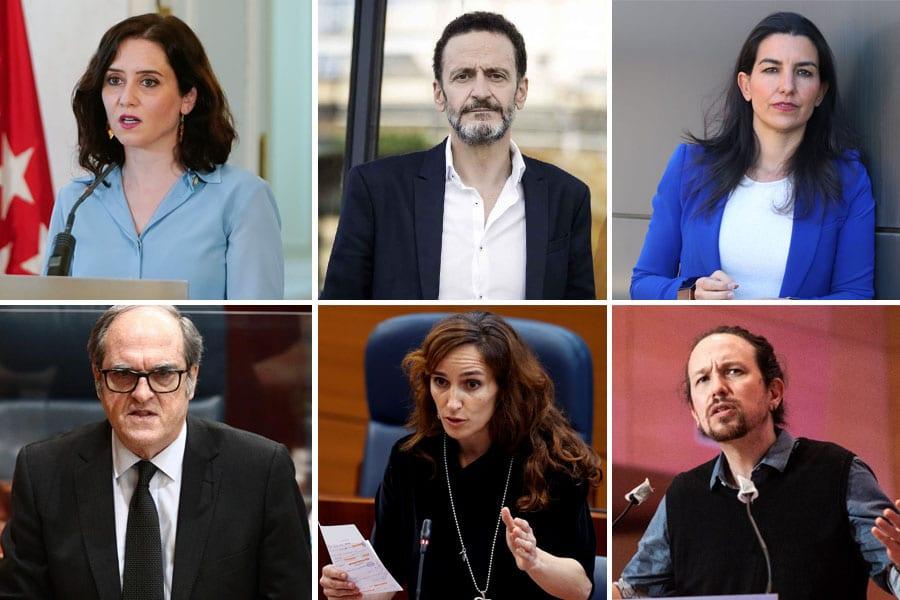 ¿Quién prefieres de presidente/a de la Comunidad de Madrid?