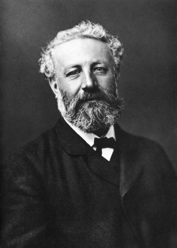 Julio Verne. Escritor visionario. Foto del escritor