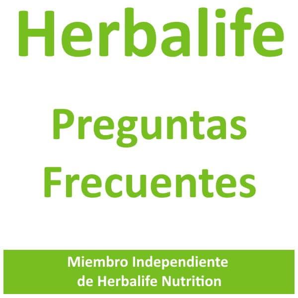 Preguntas frecuentes Herbalife. FAQ