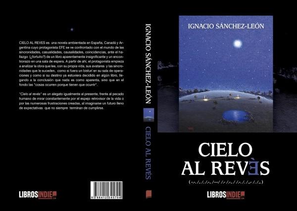 Cielo al revés. Ignacio Sánchez León. Portada del libro